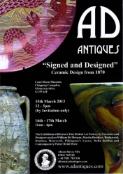 AD Antiques Exhibition Poster